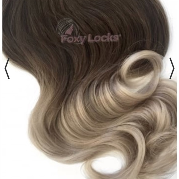Foxy Locks Accessories Seamless Clip In Extensions Remy Human Hair